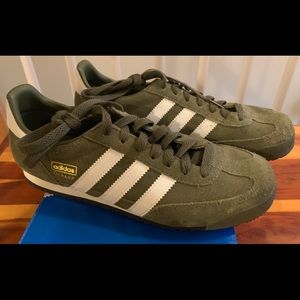 Adidas Dragon Sneakers WMS 8.5 Men's 7- Suede NEW!